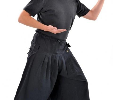 Pantalon Japonais Noir