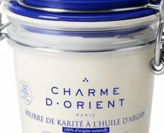 Beurre de karité à l'huile d'argan 200 gr