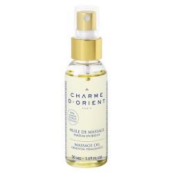 Huile de massage parfumée - flacon pompe - 300 ml