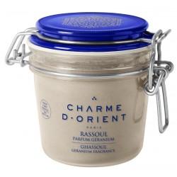 Rassoul parfum géranium - pot terrine- 250 gr