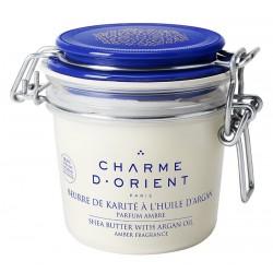 Beurre de karité à l'huile d'argan parfumé - pot terrine - 200 gr