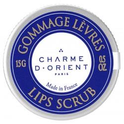 Gommage lèvres sucre, karité et huile d'argan - 15gr