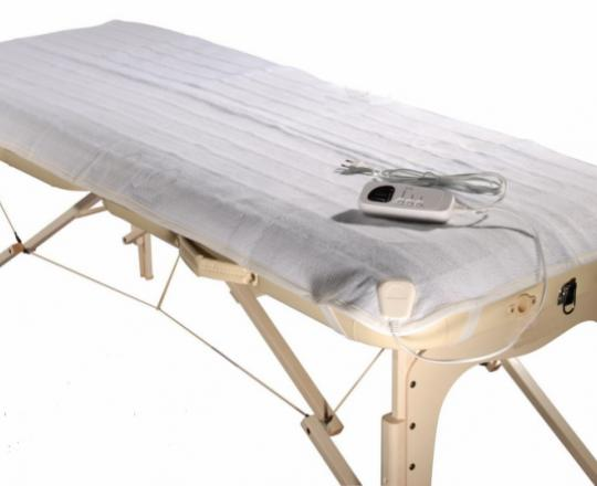 Housse chauffante pour table de massage